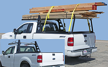 Atlas Truck rack with lumber