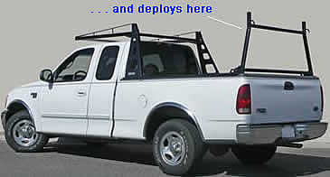 Atlas pickup truck racks can be used in agriculture