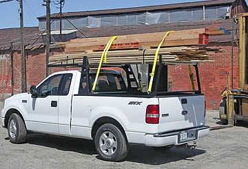 The Atlas Truck rack is the champion of strength