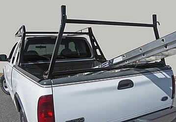 These ladder racks allow you to throw your ladder into your bed without damaging your pickup