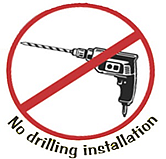 no drilling in your pickup truck